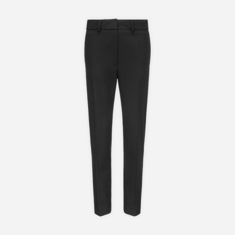 Black Trouser With Back Elastic